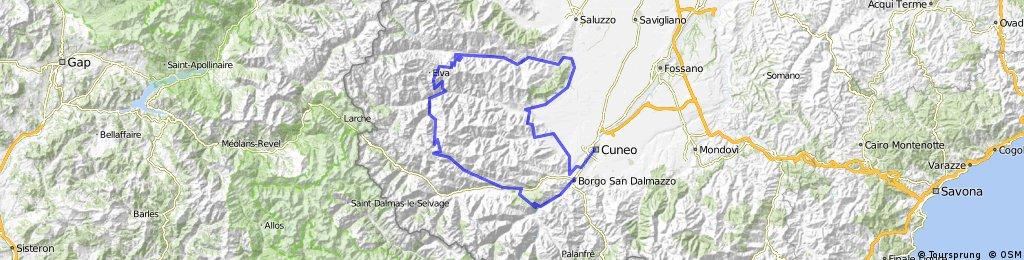 Giro - Cuneo - Borgo San Dalmazzo