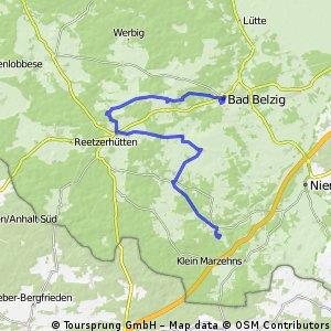 Raben - Wiesenburg - Belzig - Springbach