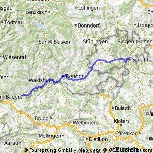 Laufenburg - Schaffhausen