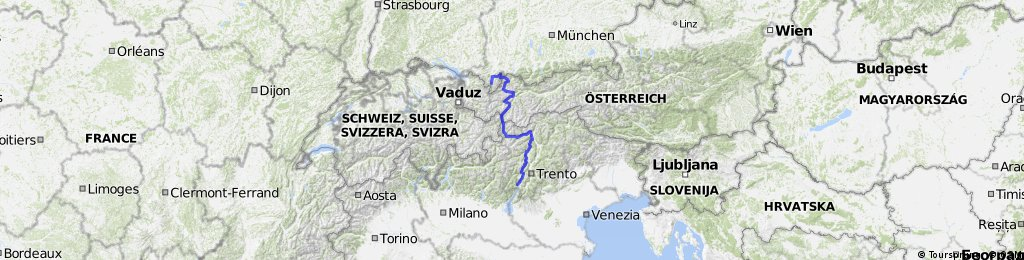 Alpencross Oberstdorf - Gardasee