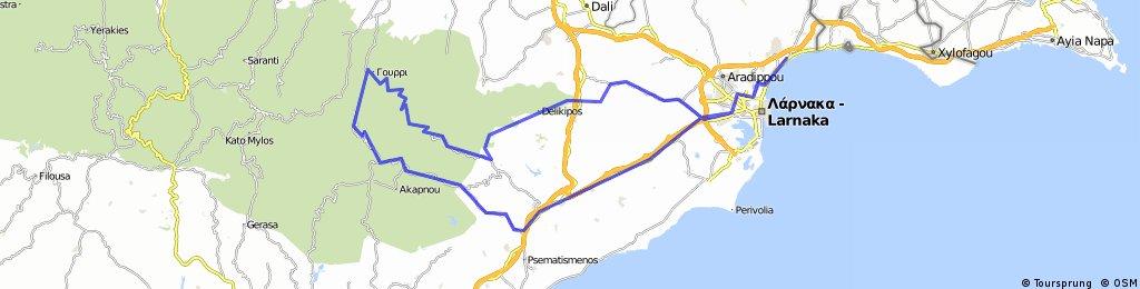 SAPIK-TEAM (Larnaka-Lefkara-Vavatsina-Lazanias-Farmakas-Choirokitia-Larnaka)