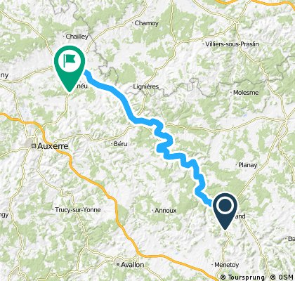 Route Bourgondie 7