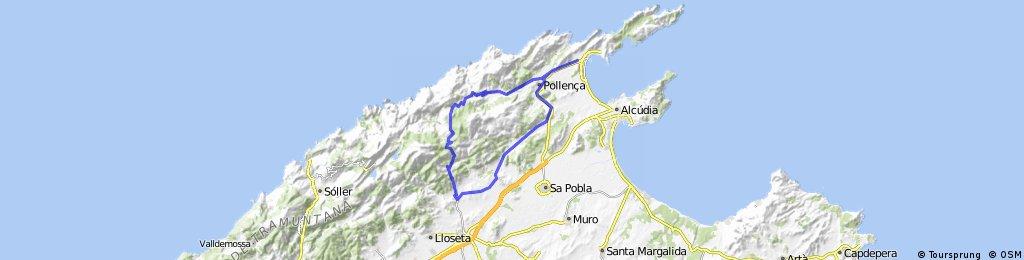 Dag 2: Port de Pollenca - Bensinstasjonen
