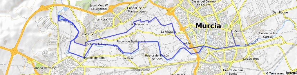 Aljoufia-Route