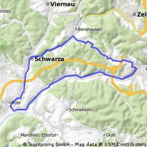 Suhl-Rohr-Schwarza-Suhl
