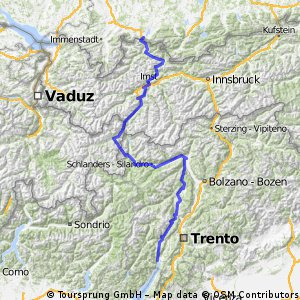 Füssen-Gardasee 2012