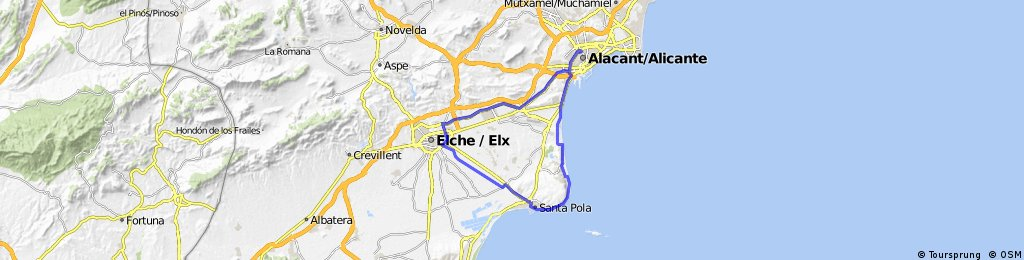 Cicloboxes-Elche-Santa Pola- Arenales-Alicante