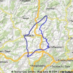 50 km_ Illingen_Lebach_Eppelborn-Illingen