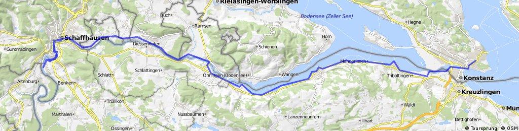 Rheinfall Schaffhausen-Konstanz/Petershausen