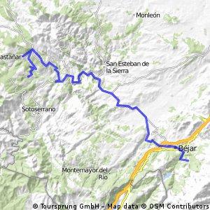 1.0 Candelario-Mogarraz  65 km