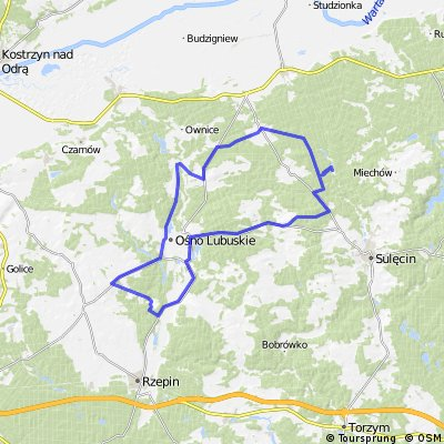 Lubiechnia-Stawy-Muszkowo-Serbów-65 km