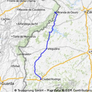 Route Portugal-Spain 2015 day 7