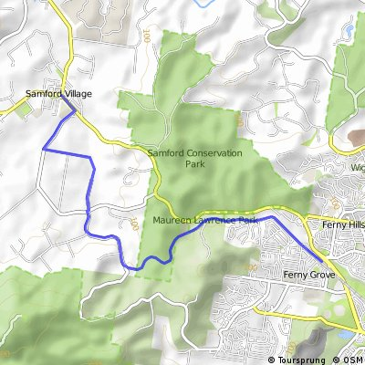 Samford to Ferny Grove - Rail Trail