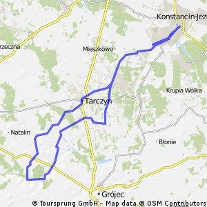 Piaseczno - Osieczek - Piaseczno