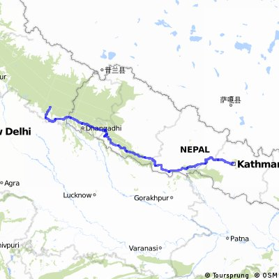 KTM to TN: Stage 1: Nepal