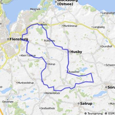 RR Runde nach Süd-Osten - 42 km (Tour de Flatz)