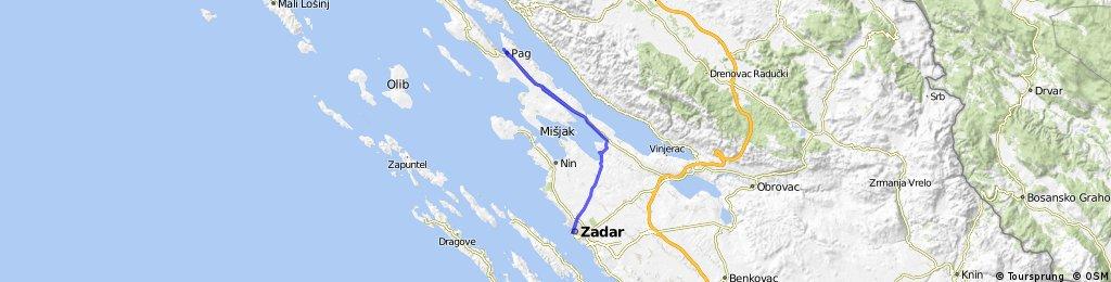 Pag - Zadar - Pag
