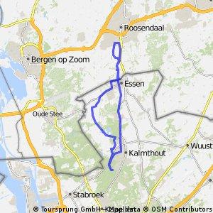 Kalmthout - Essen - Roosendaal