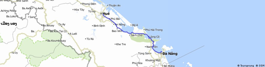 Da Nang To Hue (Hai Van Pass)