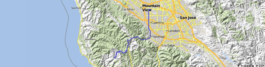 Sunnyvale to Big Basin