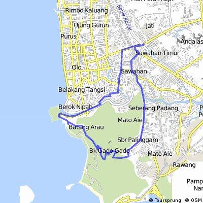 Ride Pantai Air Manis Padang