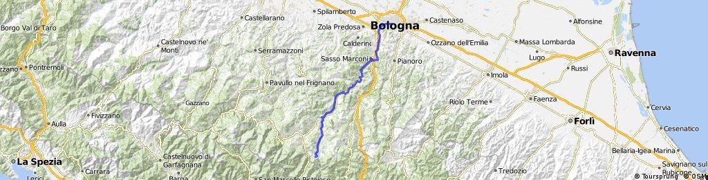 Bologna-Vegato_Lago Suviana