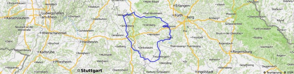 ANTour - Einmal um den Landkreis Ansbach