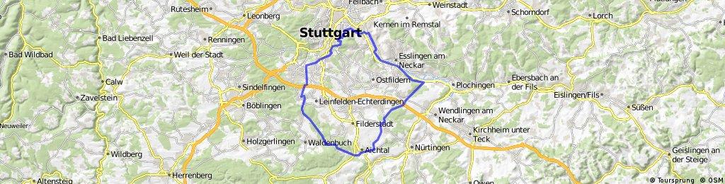 Siebenmühlental > Esslingen