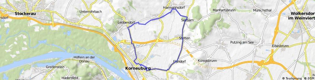 Korneuburg - Seebarn - Korneuburg