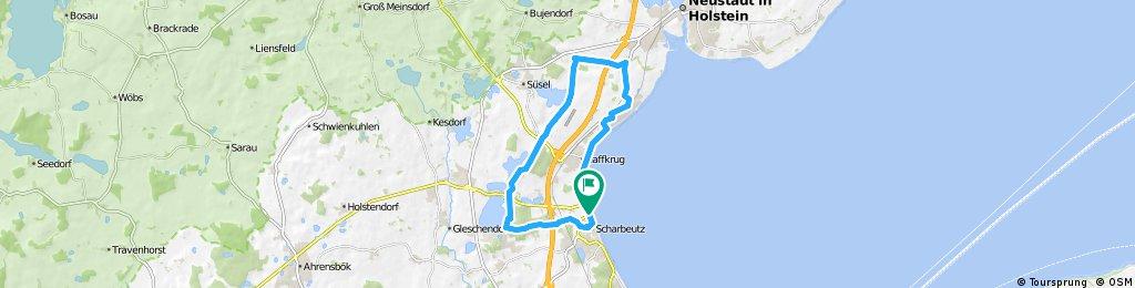 Ostsee: Scharbeutz, Sierksdorf und zurück