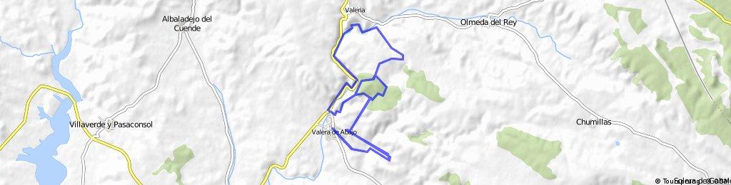 Ruta por Valera y la hoz del rio Gritos.