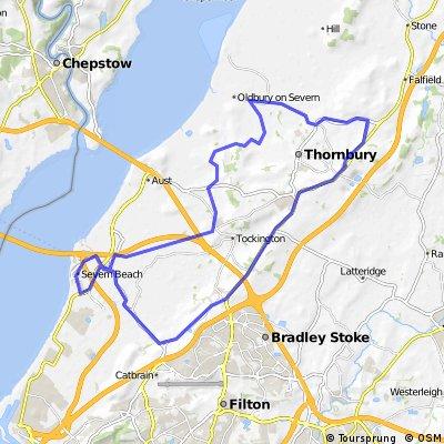 27mile bike ride