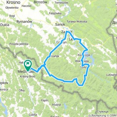 Mezőlaborc-Solina tó-Mezőlaborc