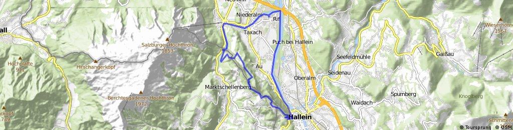 Barmstein Runde über Götschen und Ruine Thürndl