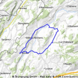 Massonnens - Siviriez - Romont - Massonnens