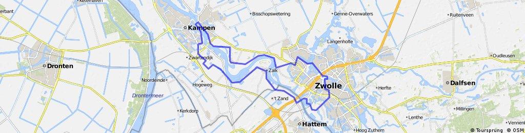 Hanze Rondje Kampen Zwolle
