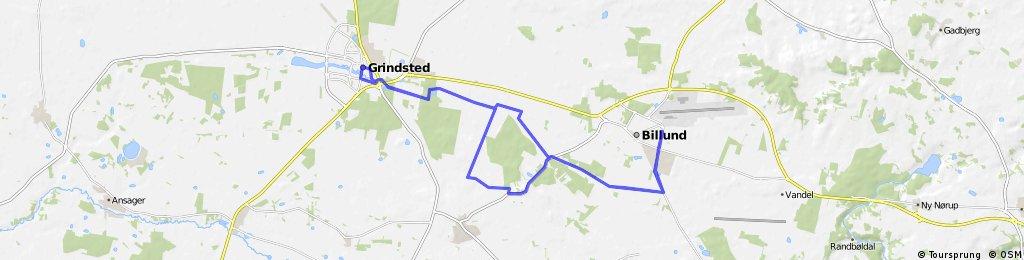 Challenge Billund-Herning last 90 km (2x45)