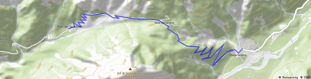 Ciaspolata Val Saisera