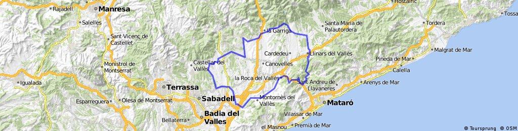 2016 Mollet Sant Antoni de Vilamajor trajecte llarg