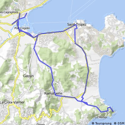 Port grimaud_Saint Tropez_mys Camarat_Ramatuelle a zpět_3.den
