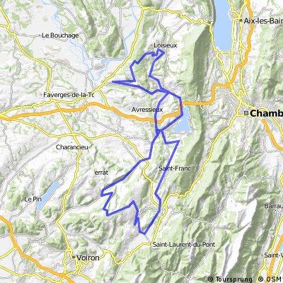 Sortie vallonnée au Mont Tournier