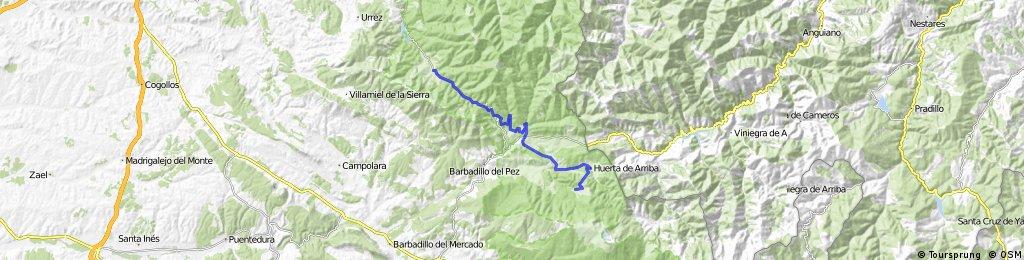 BCB. II Morciencuentros 6. Pineda de la Sierra-tolbaños de Arriba