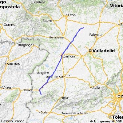VUELTA A ESPAÑA 11: Martiago - Villada