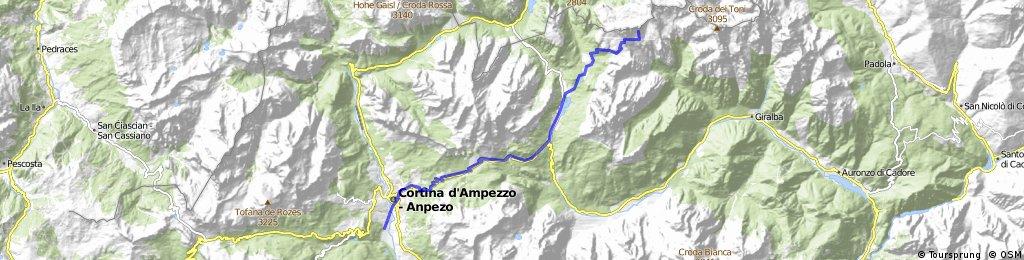 Cortina d Ampezzo - Tre Cime / Drei Zinnen