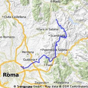 Roma - S.Polo dei Cavalieri - Orvinio - RoccaSinibalda