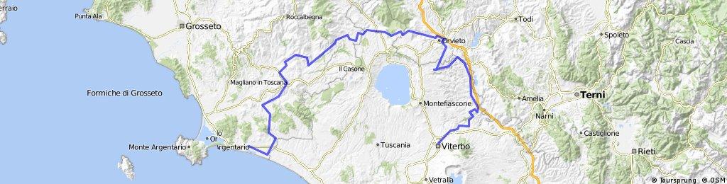 Capalbio - Terme di Saturnia - Orvieto - Civita di Bagnoregio - Bomarzo - Viterbo
