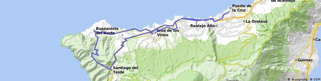Puerto - Santiago