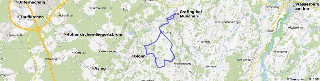 30 km Tour über Käffer im Landkreis EBE