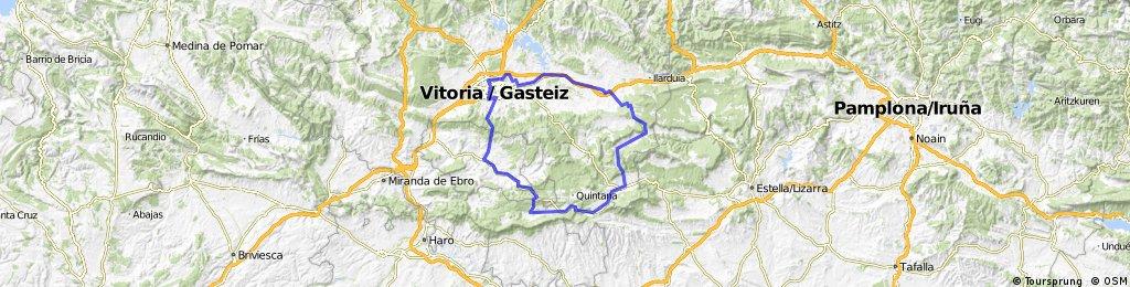 Vitoria-Matauko-Gazeo-Salvatierra-Puerto Opakua-Kontrasta-SANTA CRUZ-Bernedo-Bajauri-Ventas-Uzquiano-Puerto Vitoria-Vitoria