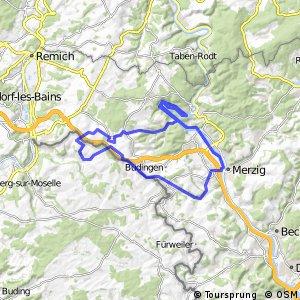 Grenzland-Runde plus Saarschleife